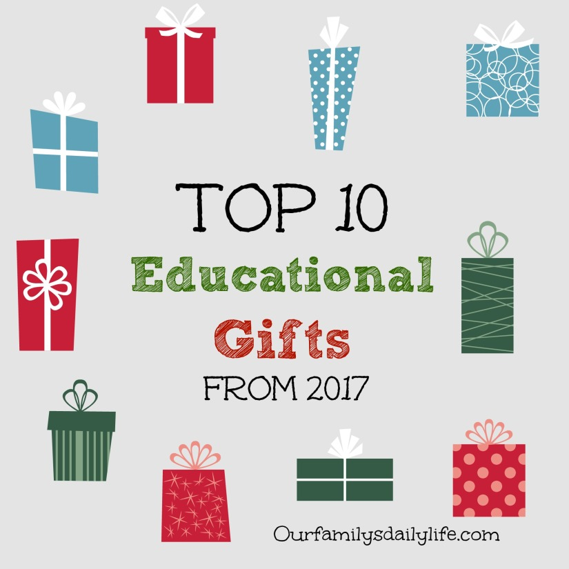 10 education gifts 2017