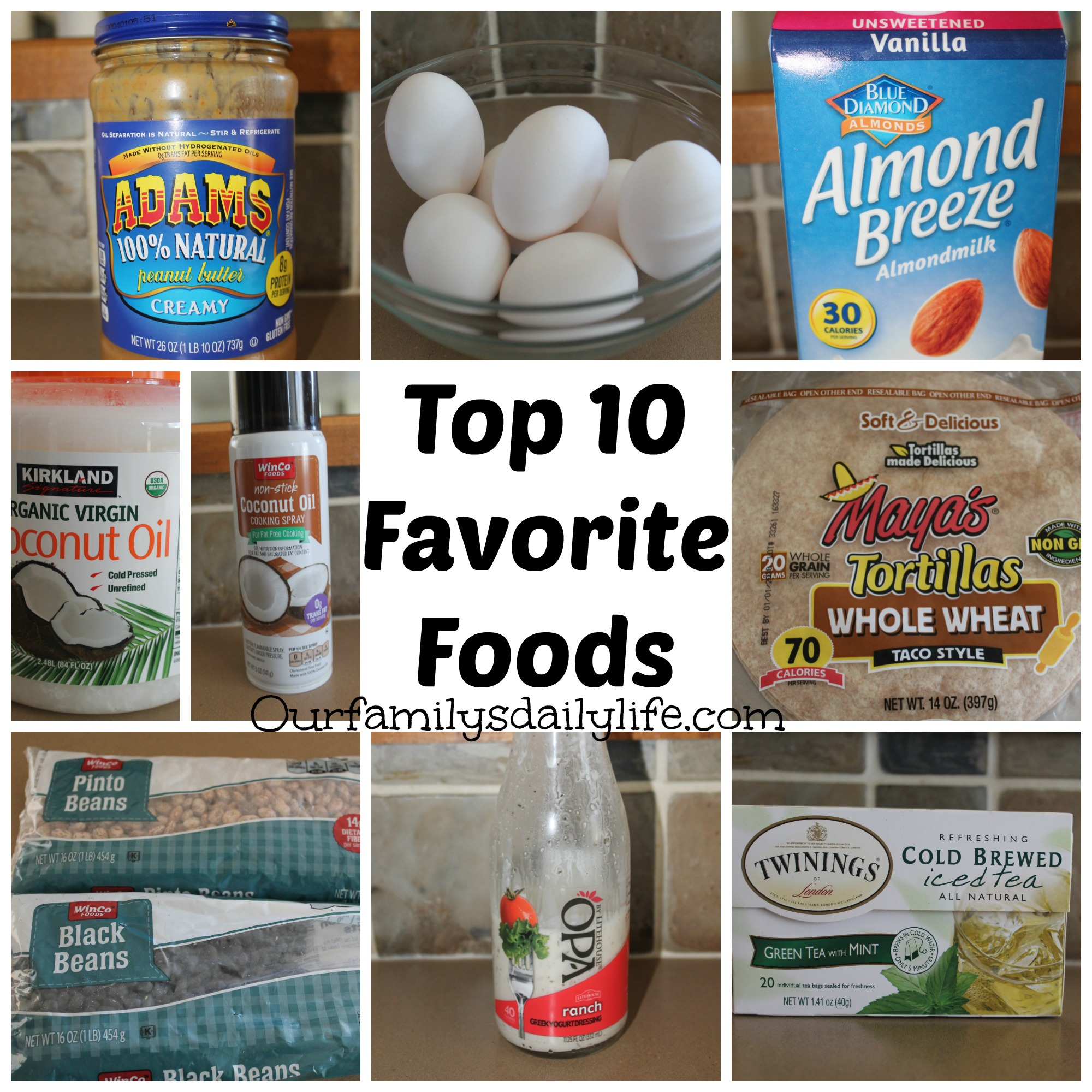 top 10 favorite foods