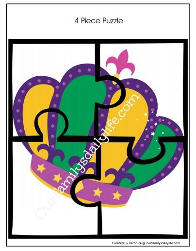 puzzle mardi gras 1