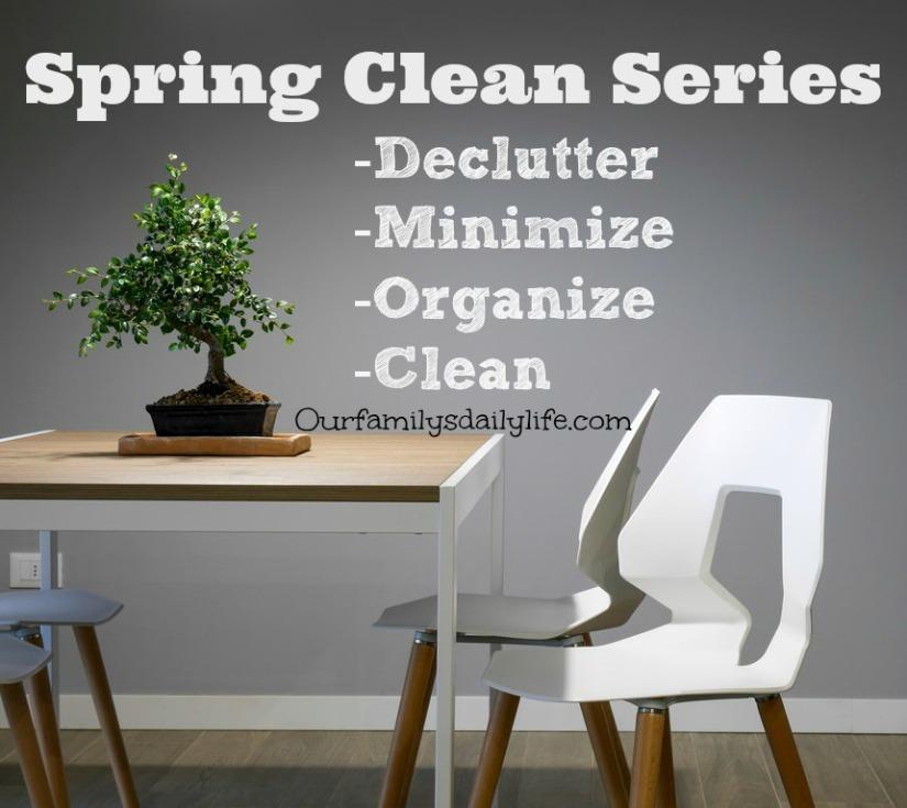 spring clean series
