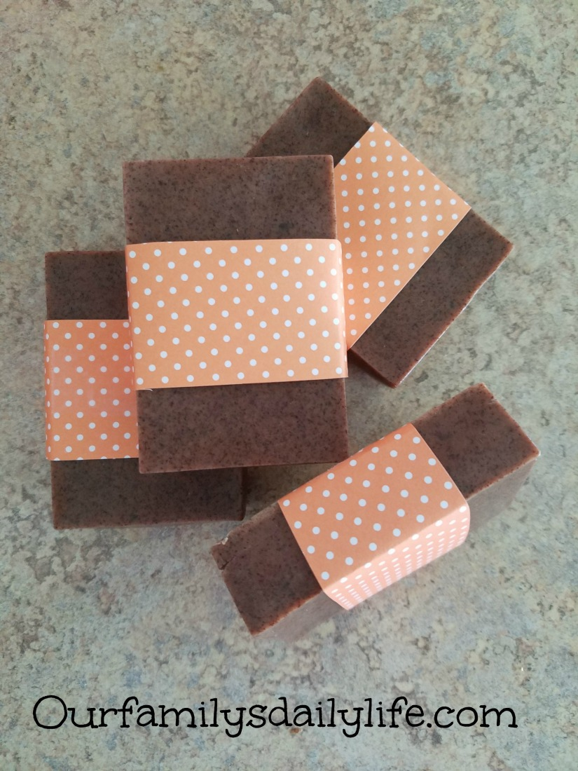 pumpkin spice soap 2