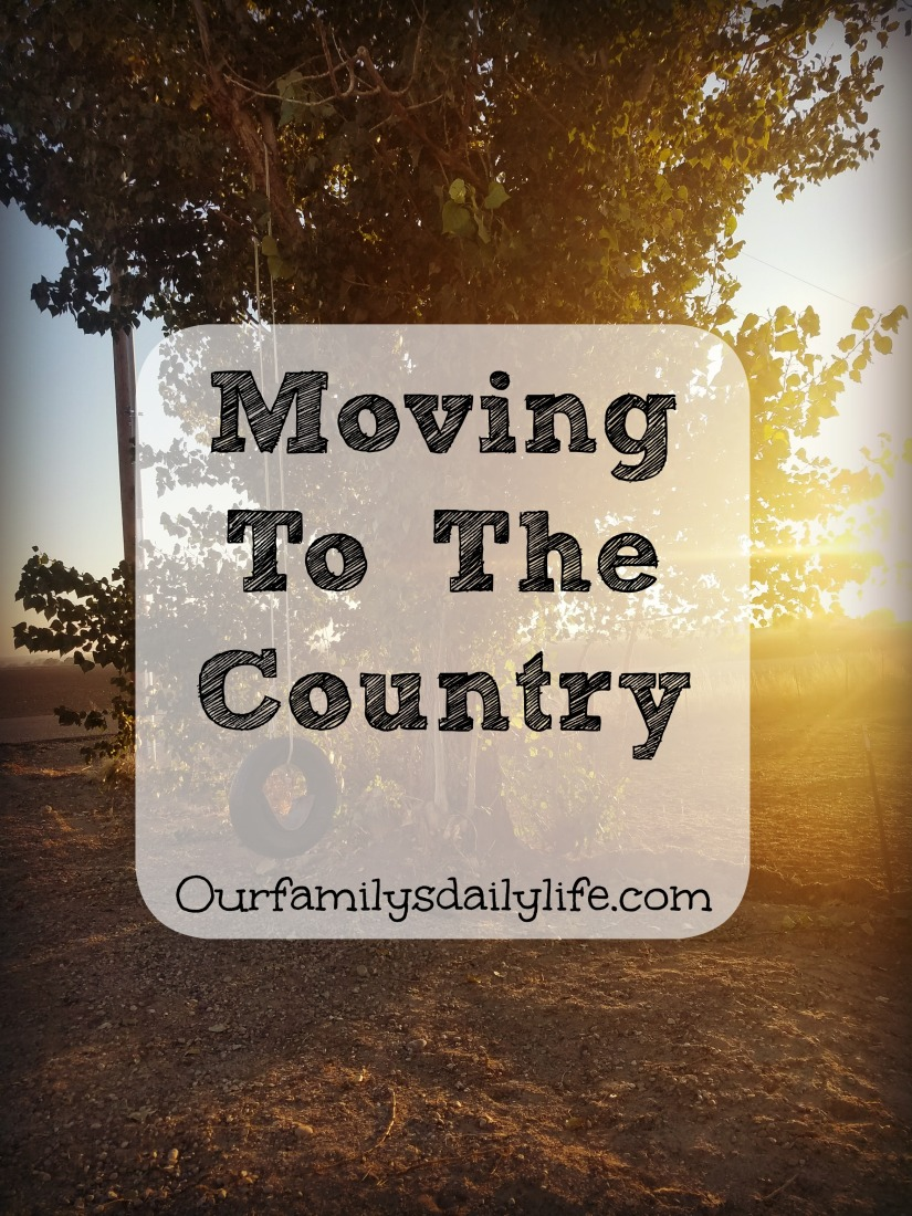moving to the country