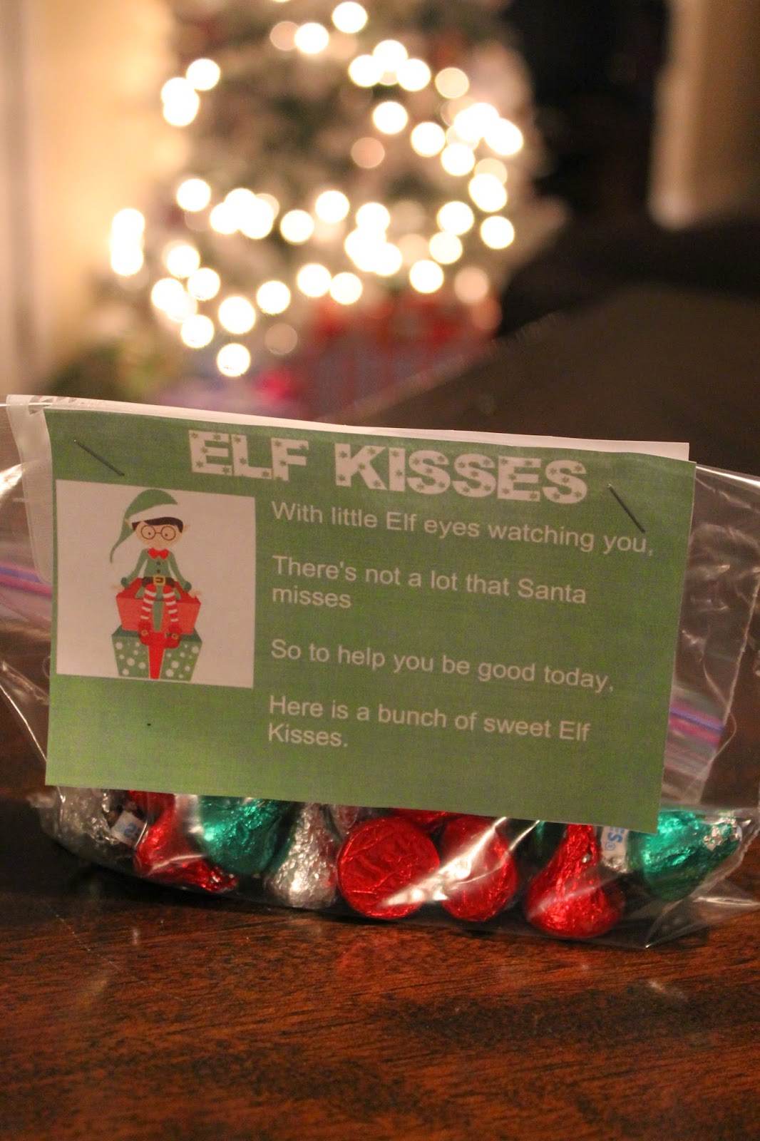 graphic about Elf Kisses Printable referred to as Elf Kisses Cost-free Printable Our Familys Each day Lifestyle