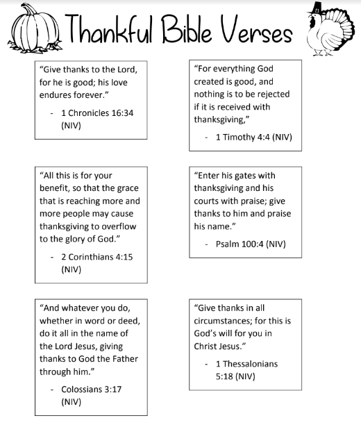 thankful bible verses 1