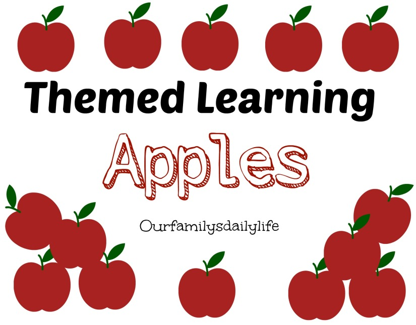 themed learning apples