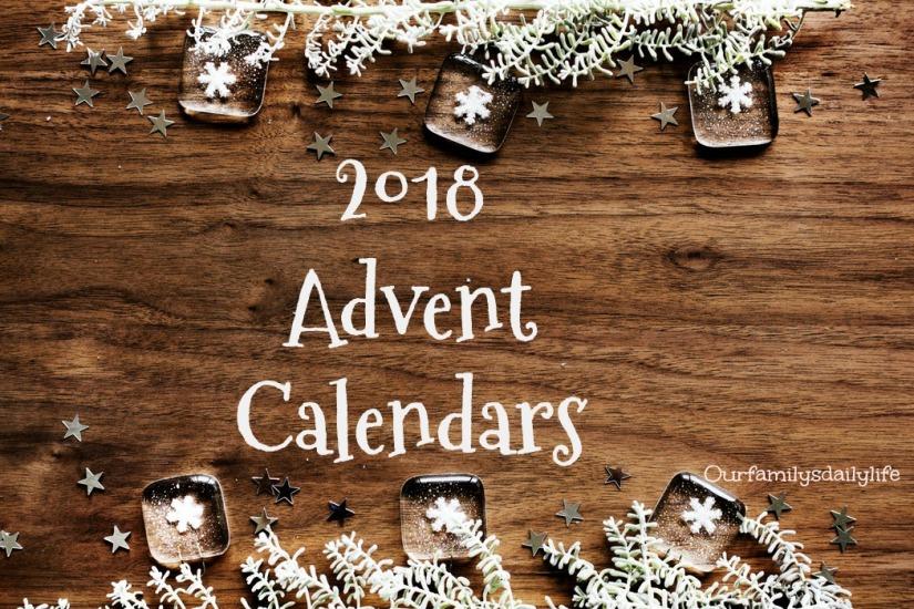 2018 advent calendars