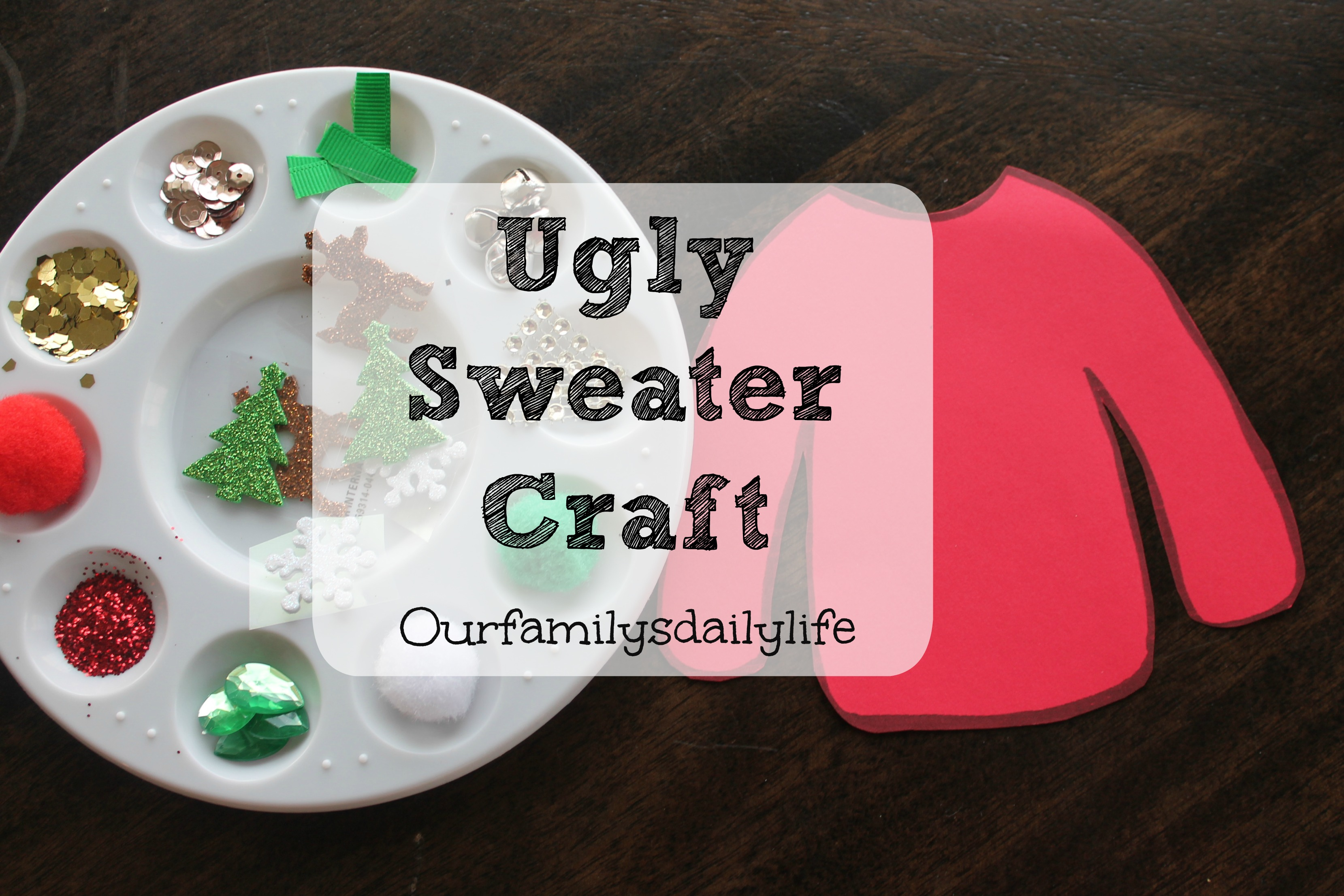 ugly sweater craft