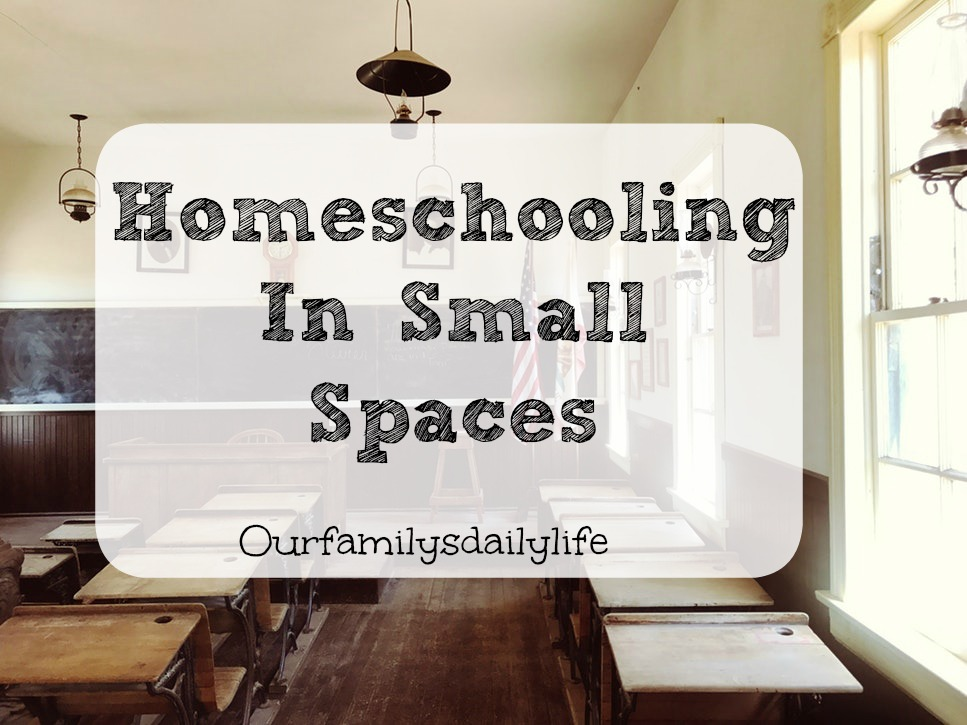 homeschooling small spaces