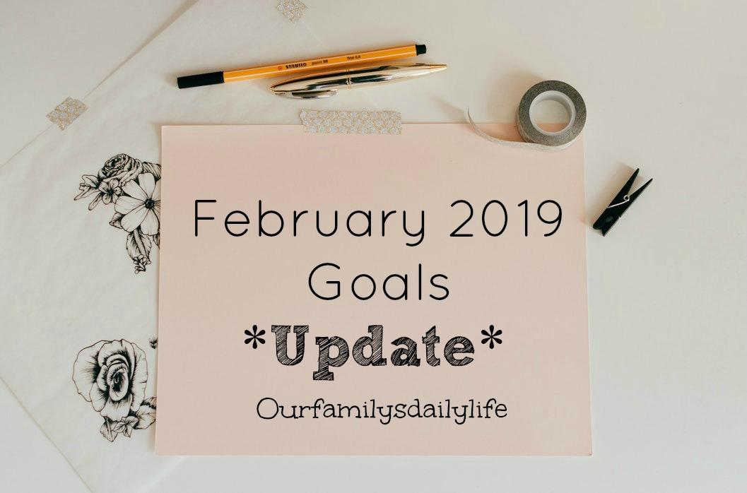 Feb 2019 goals update