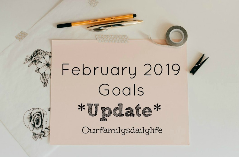 Feb 2019 goals update