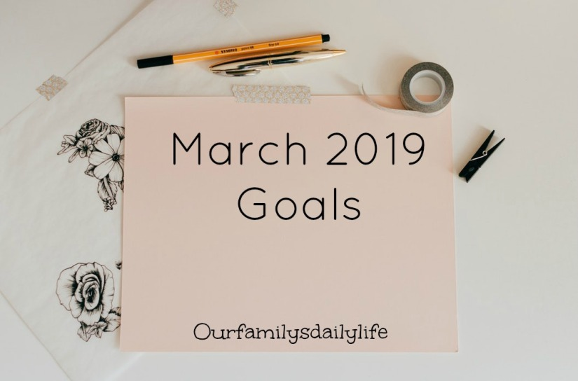 march goals 2019