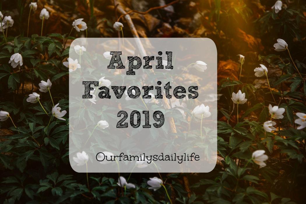 april favs 2019